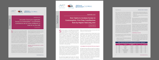 AFP and Planned Parenthood Global Launch New Advocacy Case Study with Réseau Siggil Jigéen
