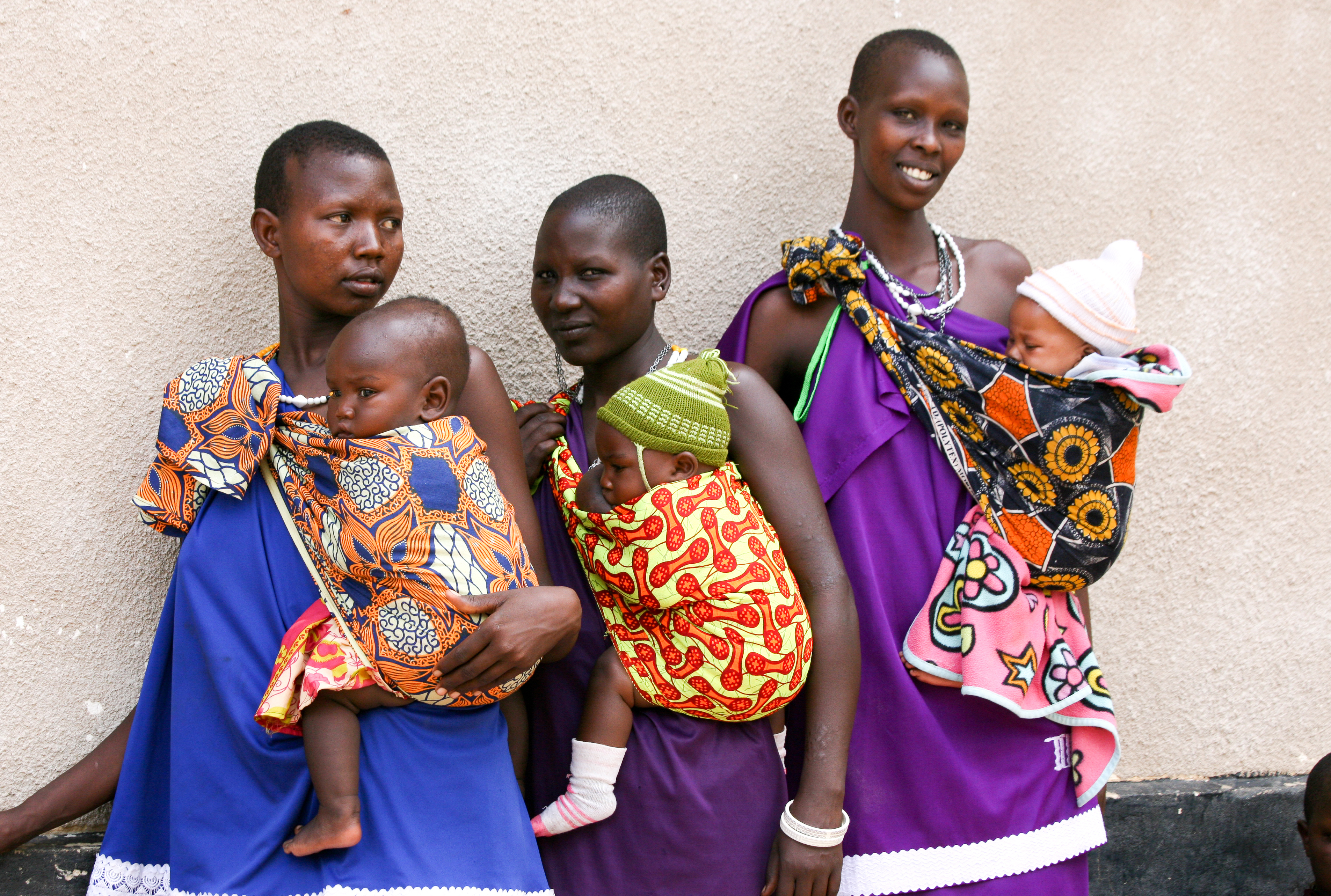 Young women in the Morogoro Region