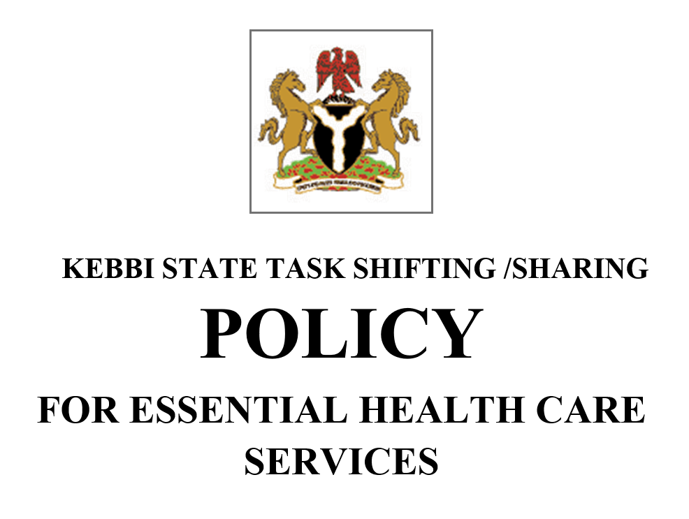 Image of Kebbi State Logo and Policy First Page